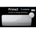 Rcool Prime 2R 9 Inverteres 2,6 kW (R32) WIFI vezérlés Fűtésre optimalizált split klímaértékesítés Szállítva és Szerelve