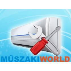 Midea Mission II Inverteres 2,6 kw (R32) WIFI vezérlés Fűtésre optimalizált split klímaértékesítés Szállítva és Szerelve