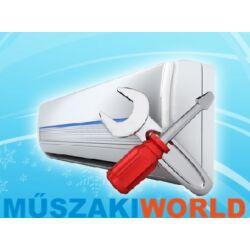 Midea Blanc 3,5 kw (R32) Invereteres Integrált Wifi vezérlés, split klímaértékesítés Szállítva és Szerelve