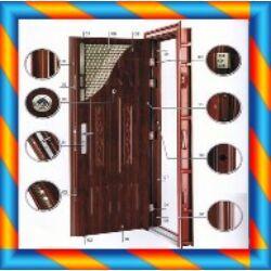 Biztonsági bejárati ajtó szakszerű beépítése
