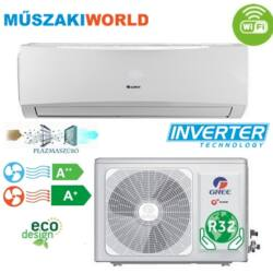 Gree Lomo Plusz 3,2 kw (GWH12QB-K6DND6I) Inverteres, wifi, Hűtő-fűtő split klíma (R32)