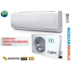 HD Maximus 2,5 Kw (HDWI-MAXIMUS-95C / HDOI-95C) Inverteres Wifi, Hűtő-fűtő split klíma (R32)