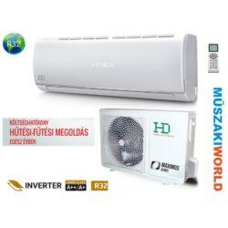 HD Maximus 3,5 Kw (HDWI-MAXIMUS-125C / HDOI-125C) Inverteres Wifi, Hűtő-fűtő split klíma (R32)