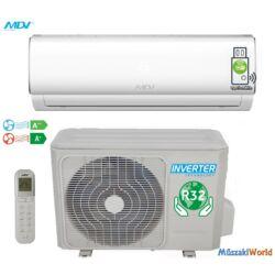 MDV by MIDEA 2,6 kw (RAG-026B-IU - 026B-OU) Inverteres Hűtő-fűtő split klíma (R32)