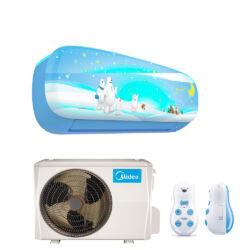 Midea Kids Blue Inverter 2,6 kw (R410A) Oldalfali,WIFI funkciós, Inverteres Hűtő-fűtő split klíma