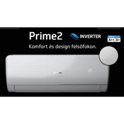 Rcool Prime 2R 12 3,5 kW (GRWH12B832-GRWH12K832 ) Inverteres, wifi, Hűtő-fűtő split klíma (R32)