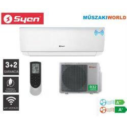 Syen Bora Plusz 3,5 kw (SOH12BO-E32DA4A) Inverteres, wifi, Hűtő-fűtő split klíma (R32)