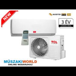 TCL Elite 2,6 Kw (R32) Inverteres,Wifi vezérlés (opcionális) Fűtésre optimalizált split klímaértékesítés Szállítva és Szerelve