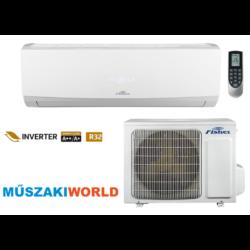 Fisher Summer 3,5 Kw (FSAI-SU- FSOAI-SU-124BE3) Inverteres, wifi, Hűtő-fűtő split klíma (R32)