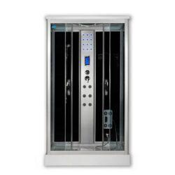 Sanimix 22.8707 Szögletes hidromasszázs zuhanykabin elektronikával 120x80x215 cm