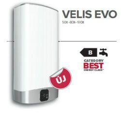 Ariston Velis EVO 80 EU Elektromos vízmelegítő Kiszállítva Felszerelve Beüzemelve