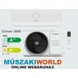 Bosch Climate 3000i 3,5 kw Inverteres,Hűtő-fűtő split klíma (R32)