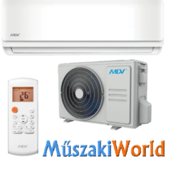 MDV NEXT by MIDEA 3,5 kw (NTA-035B-IU - 035B-OU) Inverteres Hűtő-fűtő split klíma (R32)
