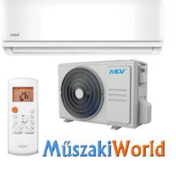 MDV NEXT by MIDEA 2,6 kw (NTA-026B-IU - 026B-OU) Inverteres Hűtő-fűtő split klíma (R32)