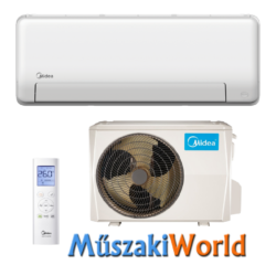 Midea All Easy PRO 3,5 kw (R32) WIFIs, Inverteres Hűtő-fűtő split klíma