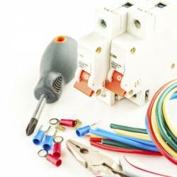 Elektromos  hálózat teljes körű kiépítése (anyag díj)