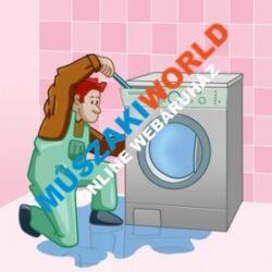 Mosógép - mosogatógép szakszerű szerelése - beüzemelése, javitása
