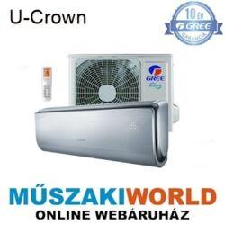 Gree U-Crown 3,5 kw (GWH12UB-K3DNA4F) Inverteres Wi-Fi-s Hűtő-fűtő design extra funkciós split klíma