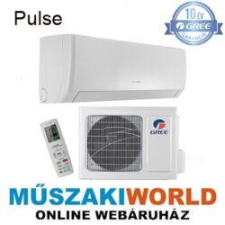 Gree Pulse 4,6 kw (GWH18AGD-K6DNA1A), inverteres, 3D légáram, wifi, Hűtő-fűtő split klíma (R32)