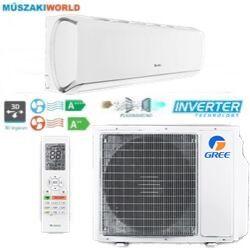 Gree G-tech 2,7 kw (GWH09AEC-K6DNA1A) Téliesíttet, inverteres, 3D légáram, wifi, Hűtő-fűtő split klíma (R32)
