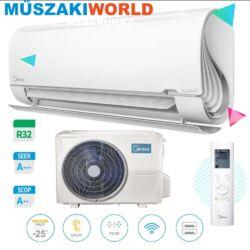 Midea BreezeleSS+ inverter 3,5 kw (R32) Inverteres Hűtő-fűtő split klíma