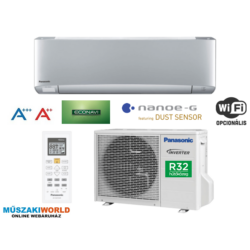 Panasonic KIT‐XZ25‐TKE Inverter 2,5 kw (R32) Inverteres Hűtő-fűtő split klíma