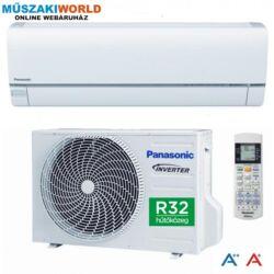 Panasonic KIT‐TZ25‐TKE‐1 Inverter 2,5 kw (R32) Inverteres Hűtő-fűtő split klíma