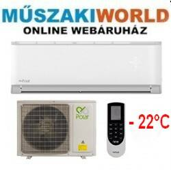 Polar SDX 3,5 kw (SIEH35SDX/SO1H35SDX) Téliesíttet, inverteres, wifi, Hűtő-fűtő split klíma (R32)