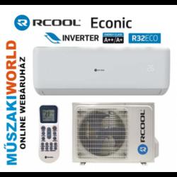 RCOOL ECONIC 9 2,6 Kw (GRAE09B932-09K932) Inverteres, Hűtő-fűtő split klíma (R32)