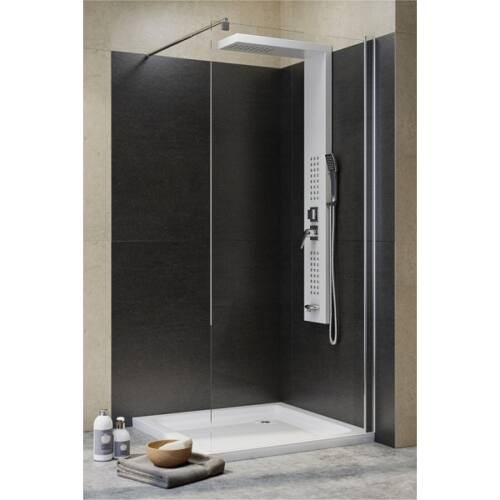Zuhanyfal 100x190 cm