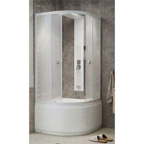 Zuhanykabin magastálcás, katedrál üveges zuhanykabin 90x90x200