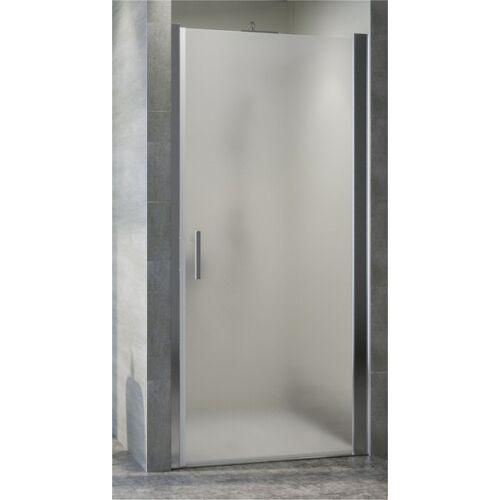 Zuhanykabin ajtó MATT üveggel, állítható szélesség 89-91 cm között 185 cm magas