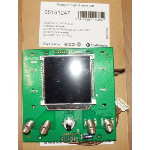 Ariston Velis VLS PREMIUM 50/80100 Kijelző Panel (gyári alkatrész)