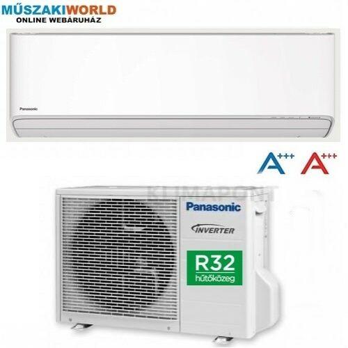 Panasonic KIT‐Z35‐XKE Inverter+ 3,5 kw (R32) Inverteres Hűtő-fűtő split klíma