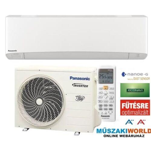 Panasonic NORDIC KIT‐NZ25‐TKE  Inverter 2,5 kw (R32) Inverteres Hűtő-fűtő split klíma
