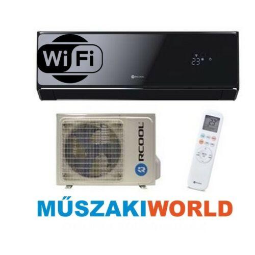Rcool Onyx Black 3,5 kw (GRAH12B0-GRAH12K0) Inverteres, wifi, Hűtő-fűtő split klíma (R32)