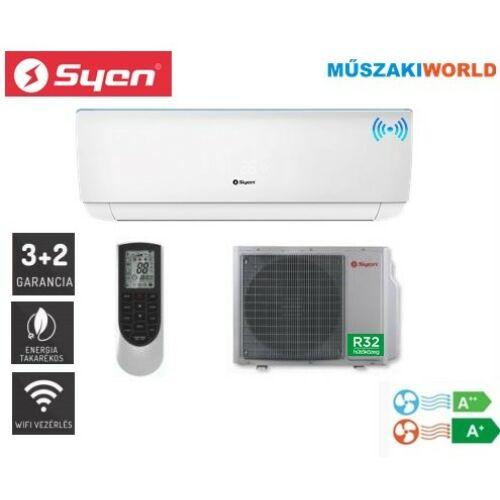 Syen Bora Plusz 6,5 kw (SOH24BO-E32DA4C) Inverteres, wifi, Hűtő-fűtő split klíma (R32)