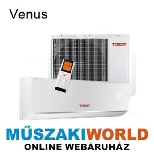 Tosot by Gree (Venus) 3,5Kw TWH12QC-K6DNC6D Téliesíttet, inverteres, wifi, Hűtő-fűtő split klíma (R32)