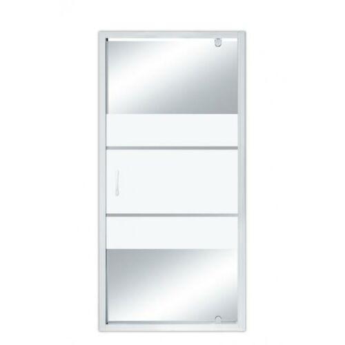 Zuhanykabin ajtó állítható szélesség 89-91 cm között 185 cm magas