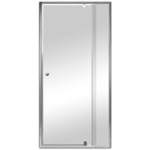 Beépíthető zuhanyajtó állítható szélesség 760-910 mm között állítható,1850 mm magas