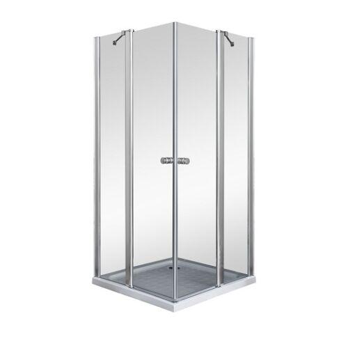 Sanimix 22.223 Szögletes nyílóajtós zuhanykabin tálca nélkül 90 x 90 x 185