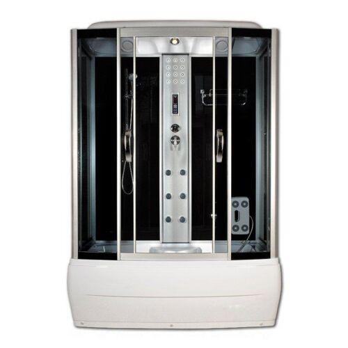 Sanimix 22.8011-150 Kádas Hidromasszázs zuhanykabin elektonikával 150x85x215 cm